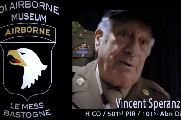 """WW II Veteran Stories – Vince Speranza – """"The Beer Run"""""""