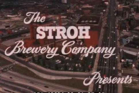1960's Stroh's Brewery Company Promo Film